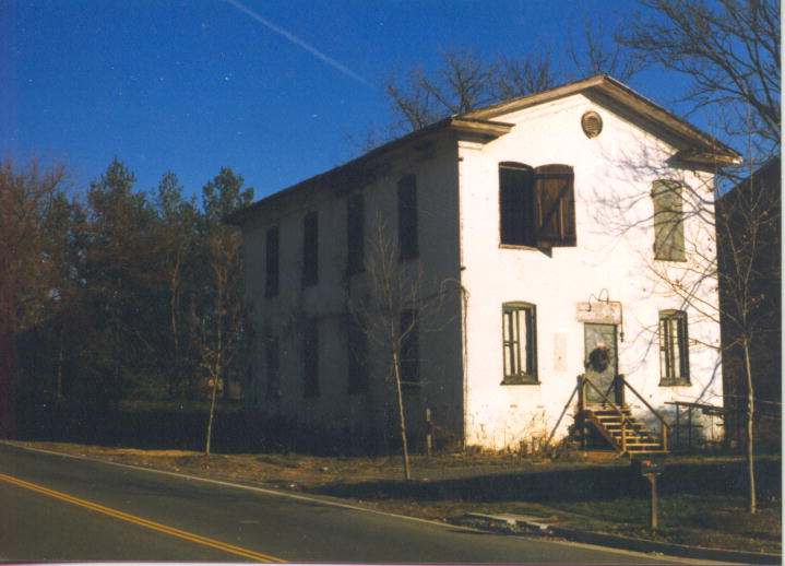 The last remnant of the Virginia Gentleman distillery