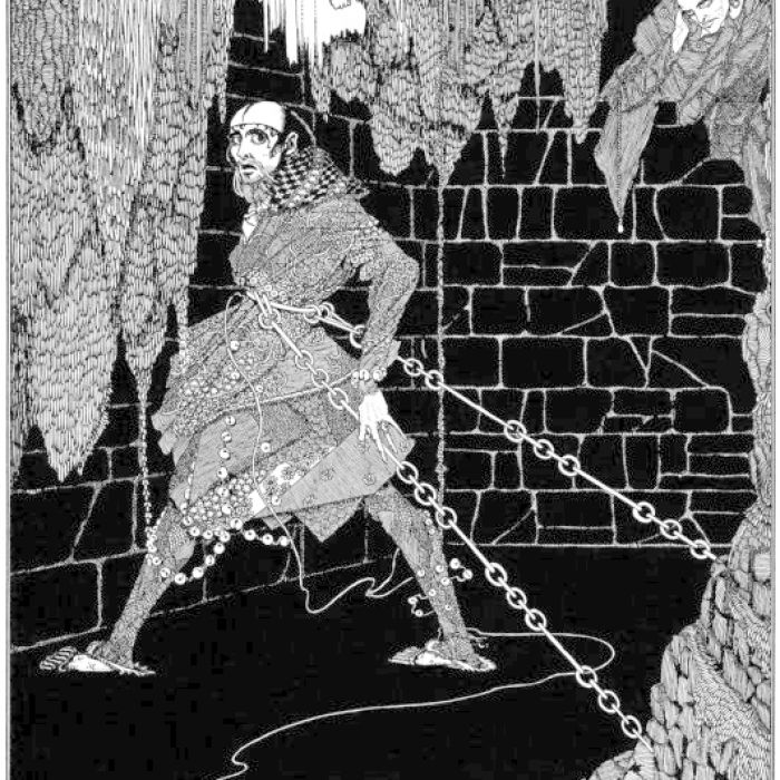 an analysis of the story of montresors revenge in edgar allan poes cask of amontillado The cask of amontillado edgar allan poe: the montresors, had lived for centuries there was no one at home i had told the servants.