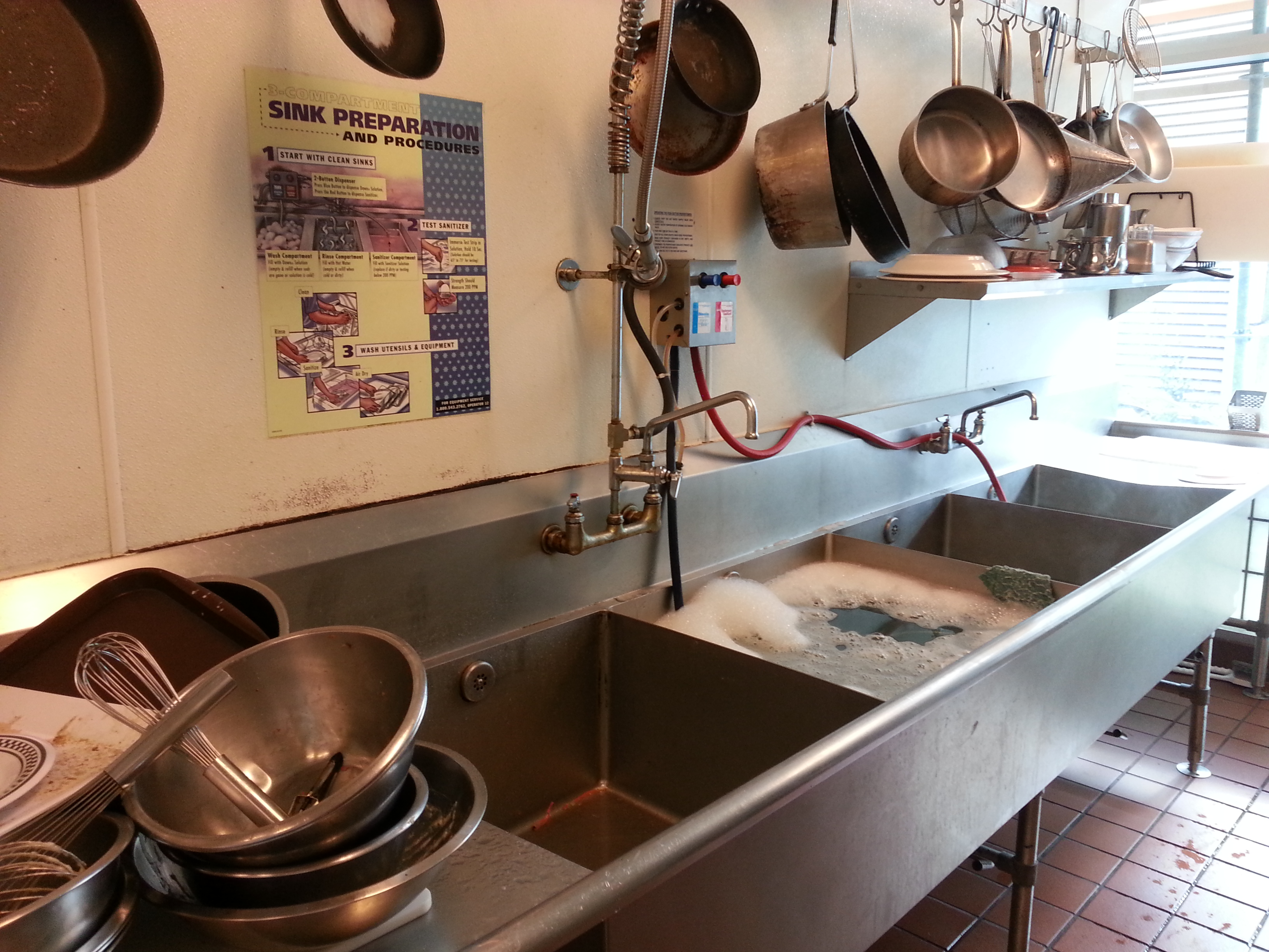 Washing Dishes As Antidote For Apathy