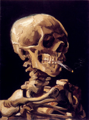 Van_Gogh_-_Skull_with_a_burning_cigarette-298x400